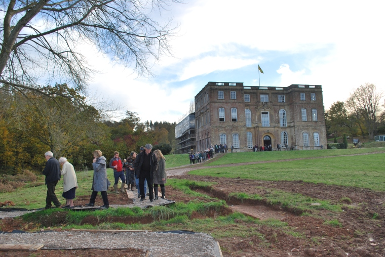 Halswell House Baroque Archaeology