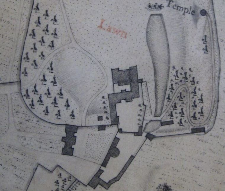 1771 Estate Map by William Day.