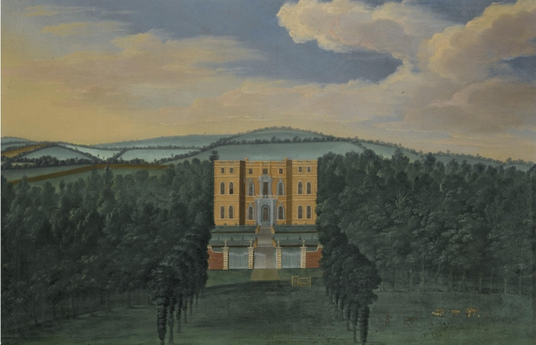 Halswell Baroque north wing, c. 1710