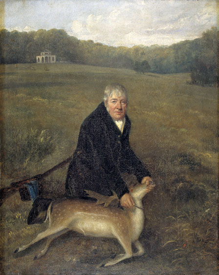 Mr Dorrington, Gamekeeper at Halswell Park by Henry S. Parkman (1814 - 1864)