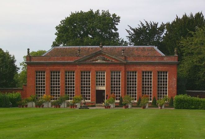 The Orangery, Hanbury Hall, Worcestershire, c. 1745.