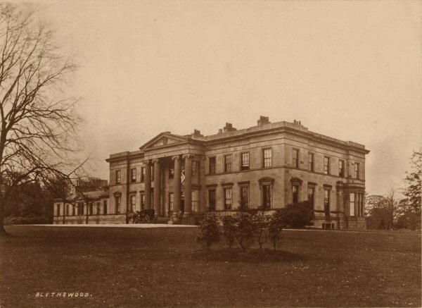 Blytheswood House, Renfrew, Scotland, a neoclassical mansion designed by James Gillespie Graham, was the seat of the Lords Blythswood, and was demolished in 1935.