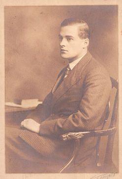 Charles John Halswell Kemeys-Tynte, 9th Baron Wharton(1908–1969) in 1929.