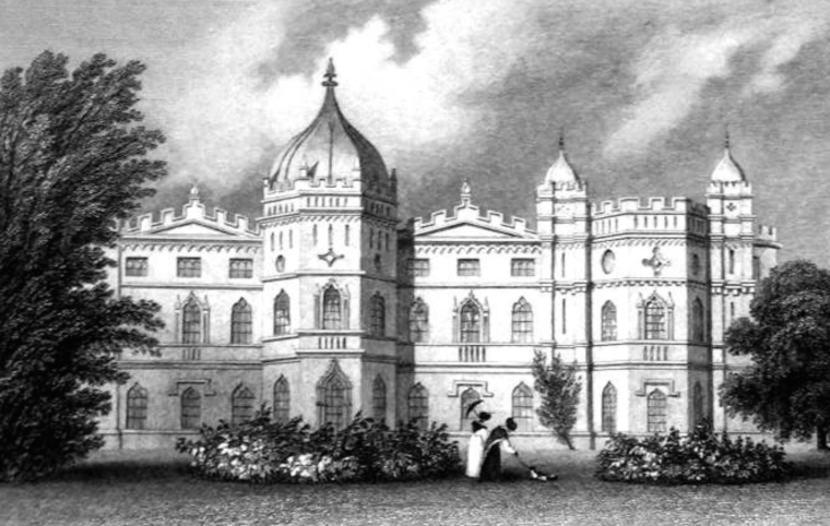 Tong Castle, demolished in 1954.
