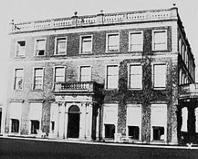 Belvoir House, Newtownbreda, Belfast, the former seat of the Viscounts Dungannon and latterly the Barons Deramore, was demolished in 1961 by theNorthern Ireland Forest Service.
