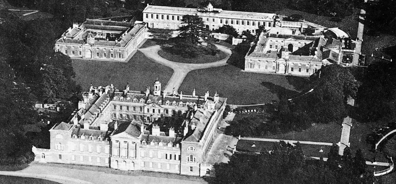 Woburn Abbey during WWII