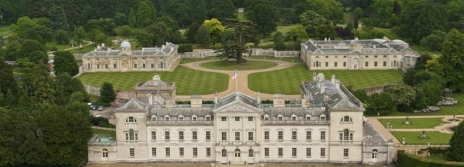 Woburn Abbey shortly after WWII