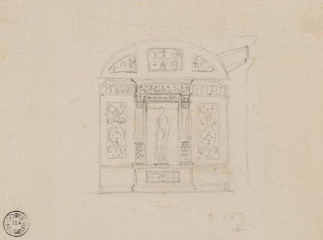Robert Adam's preliminary design