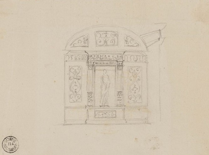 Robert Adam's preliminary design