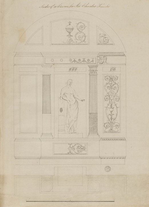 Robert Adam's record drawing