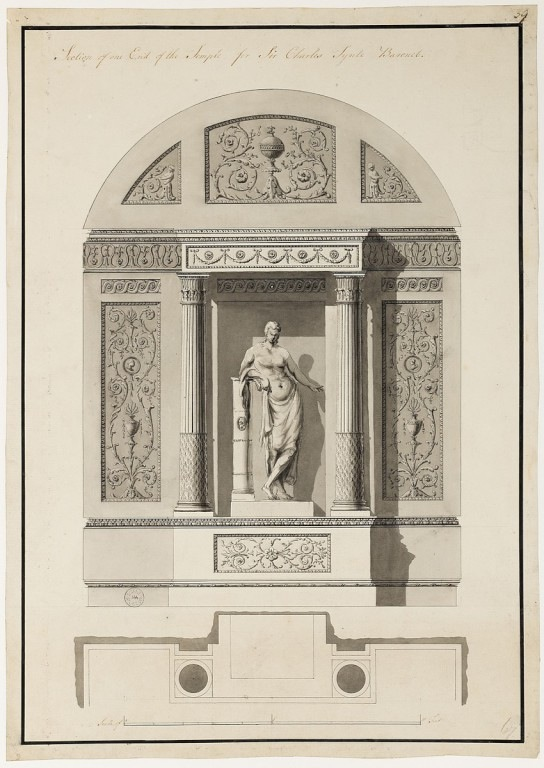 Robert Adam's final design.