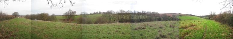 Panoramic view of Mill Wood looking north.