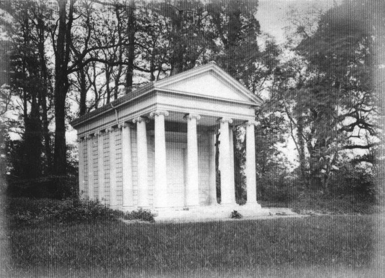 The Temple of Harmony, photographed c.1898.