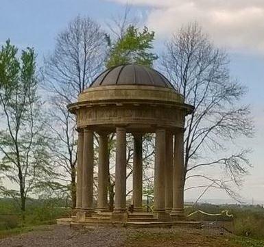 The Rotunda at Haslwell, built 1755.