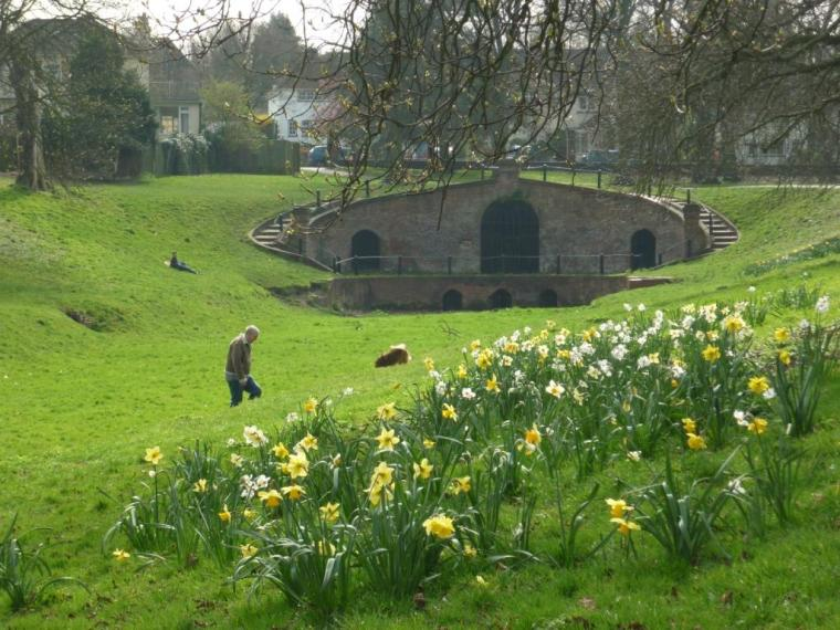 The Grotto in Carshalton Park