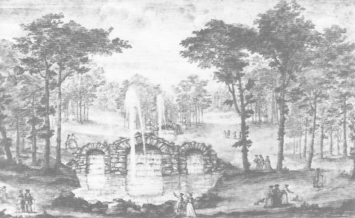 William Kent, Rousham, Oxordshire, for GeneralJames Dormer-Cottrell, also 1738.