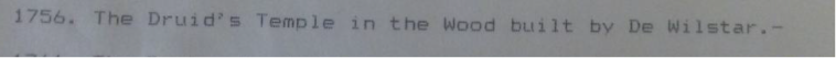 Escott's Memorandum