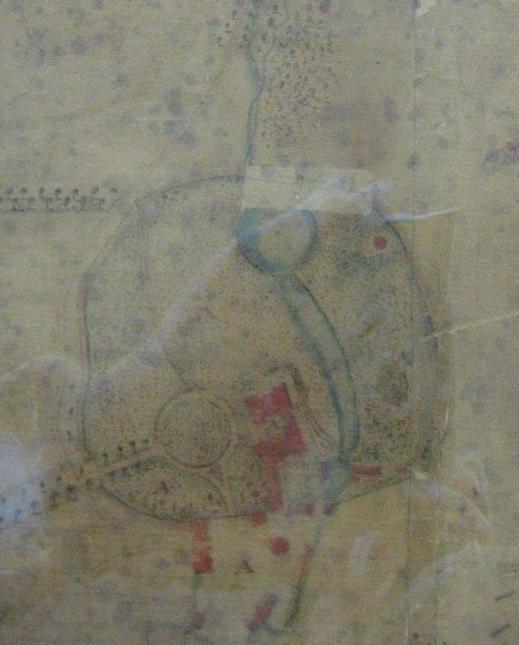Jacob de Wilstar's map of Halswell, 1756.