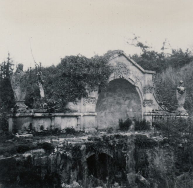 The Bridge soon after Mill Wood was deforested in 1950.
