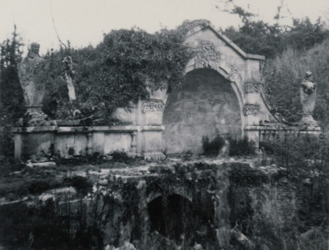 Bath Stone Bridge 1950s smaller version